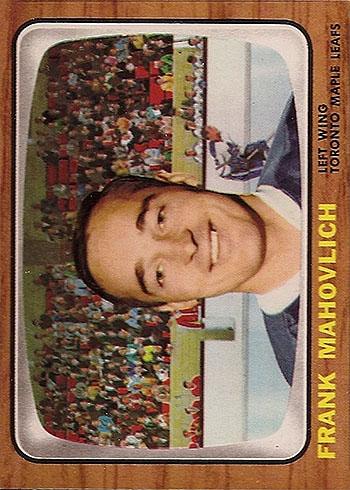 77 TORO Frank Mahovlich