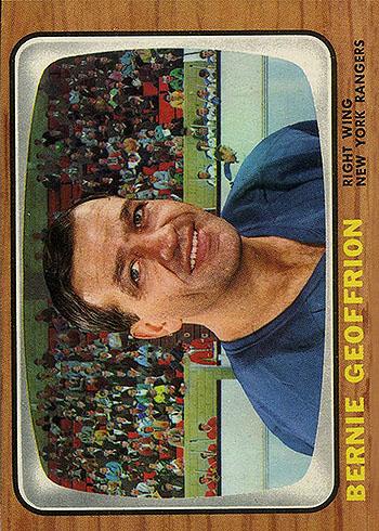 85 NYRA Bernie Geoffrion