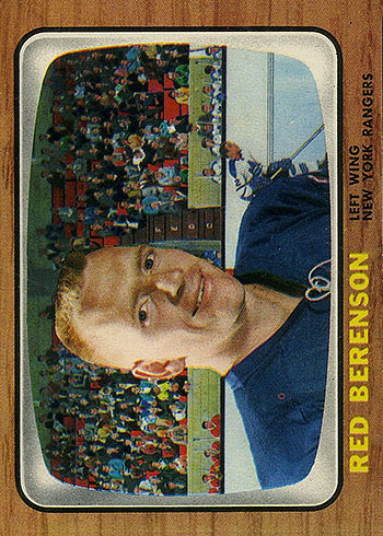 92 NYRA Gordon (Red) Berenson