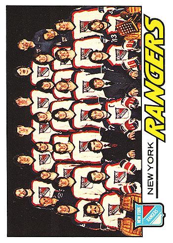 82 NYRA Rangers