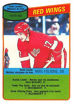 16 DETR Mike Foligno